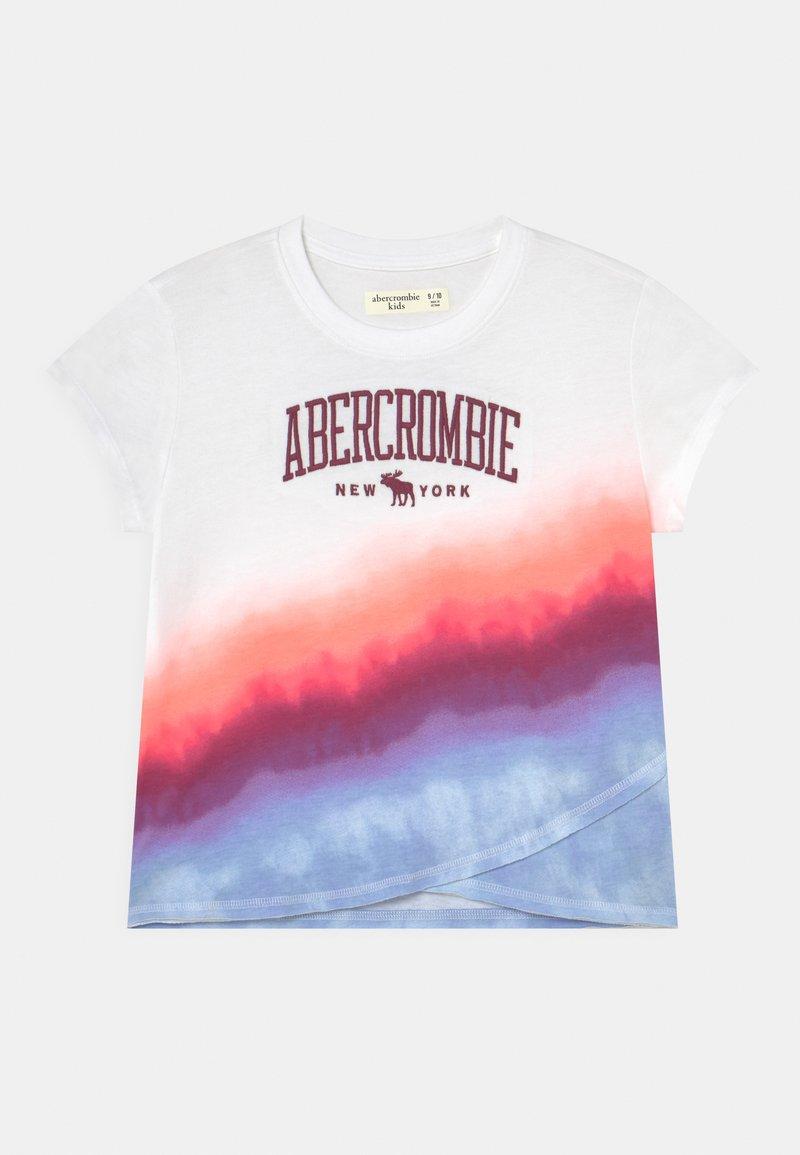 Abercrombie & Fitch - TECH CORE PATTERN - Print T-shirt - multi-coloured