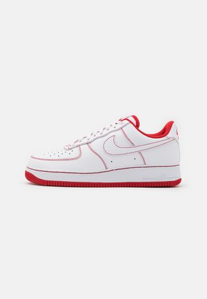 AIR FORCE 1 '07 STITCH - Tenisky - white/university red