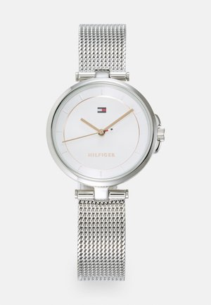CAMI - Watch - silver-coloured/white