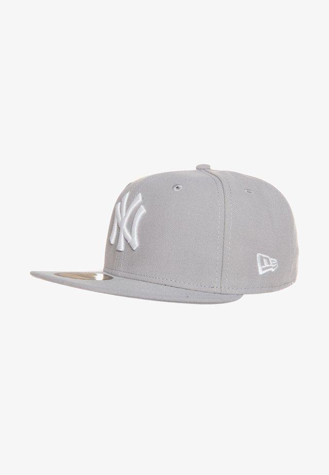 59FIFTY NEW YORK YANKEES - Casquette - mlb basic neyyan grey/white