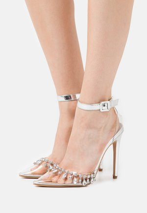 RASSEL - High Heel Pumps - clear/silver
