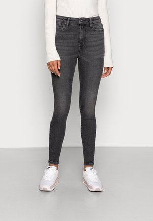 ONLMILA LIFE  - Jeans Skinny Fit - black denim