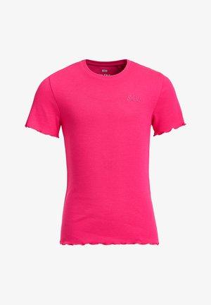 SLIM FIT  - T-shirt basique - pink
