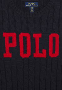Polo Ralph Lauren - CABLE - Svetr - navy - 2
