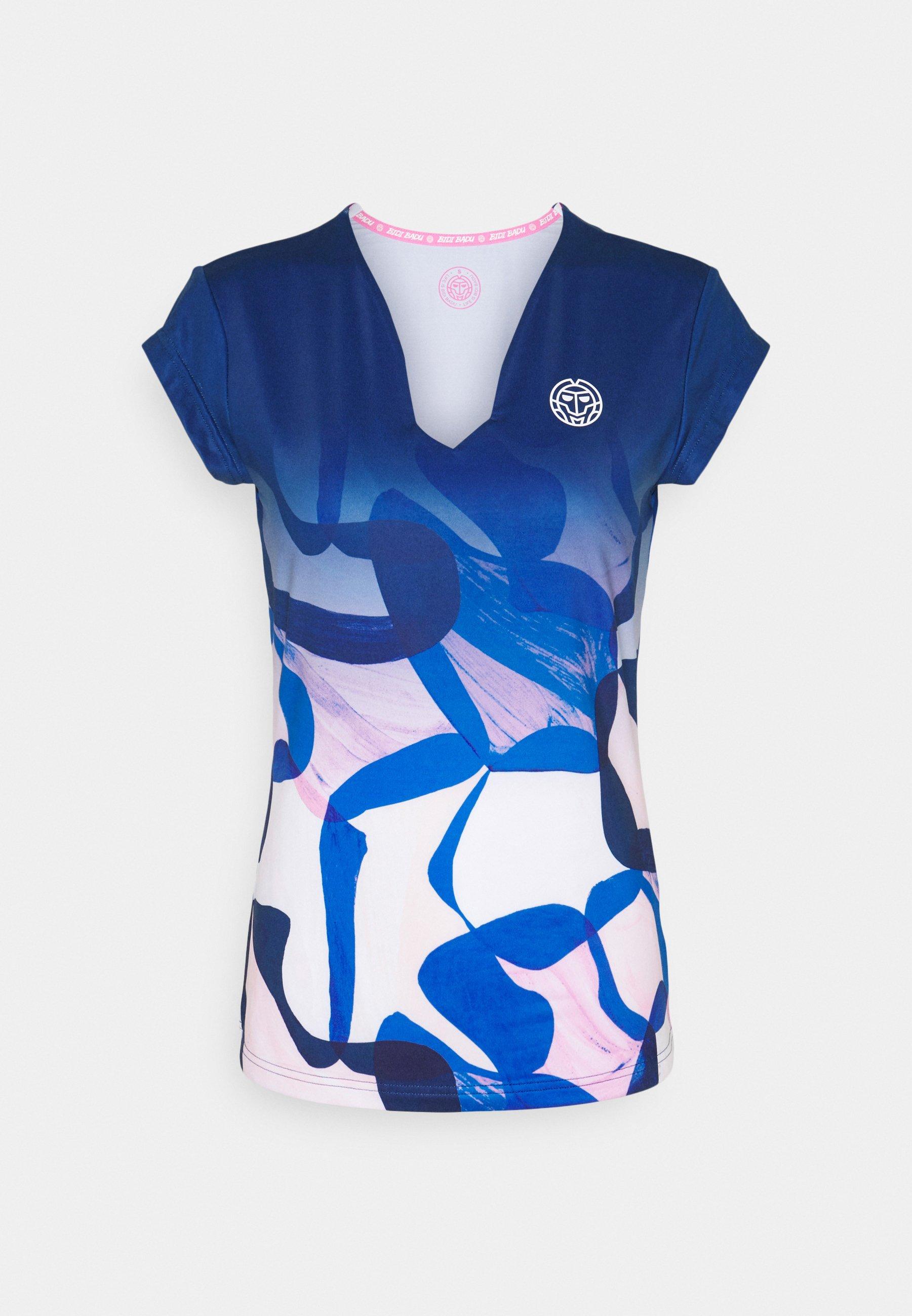 Women BELLA 2.0 TECH V NECK TEE - Print T-shirt