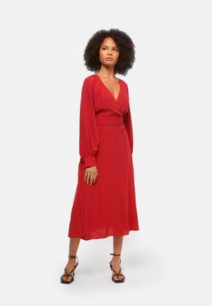 ASHLEY - Day dress - red