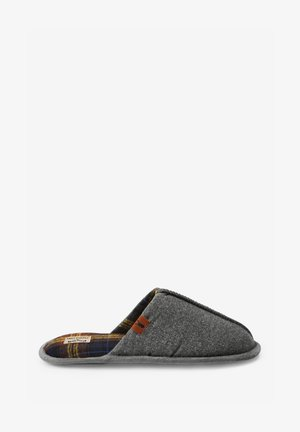 CHECK LINED - Slippers - grey