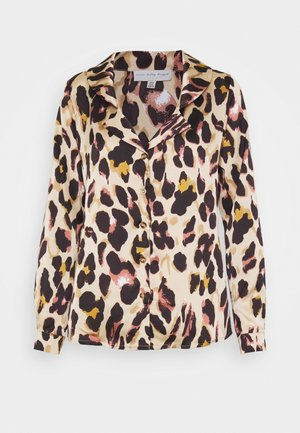 CHESTER LEOPARD - Blusa - brown