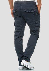 INDICODE JEANS - BROADWICK - Cargo trousers - navy - 2