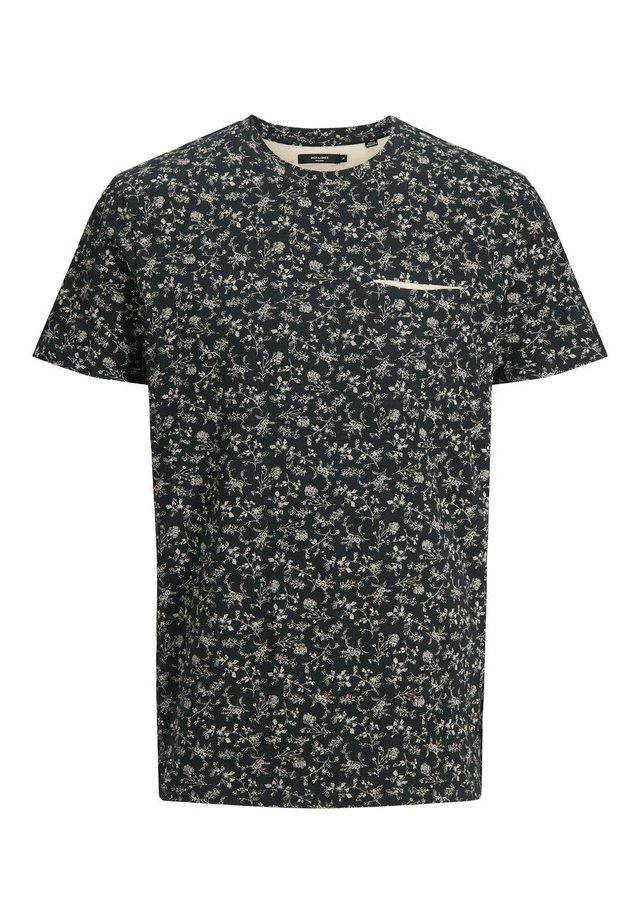 T-shirt med print - caviar