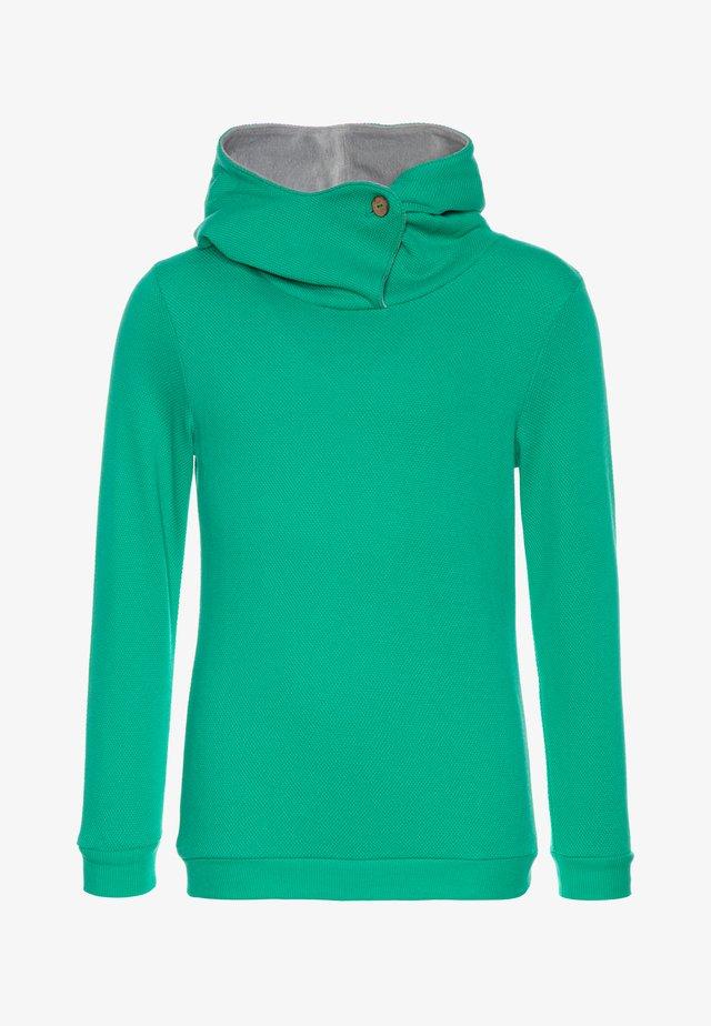 HOODY - Bluza z kapturem - emerald