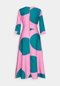 Closet - CLOSET HIGH LOW WRAP DRESS - Day dress - pink - 1