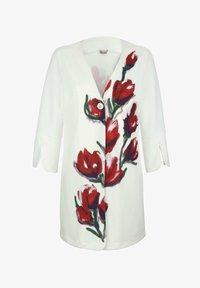 Alba Moda - Short coat - off-white rot - 6