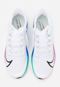 Nike Performance - AIR ZOOM PEGASUS 37 FLYEASE - Neutral running shoes - white/flash crimson/hyper violet - 3