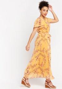 LolaLiza - BUTTERFLY - Maxi dress - yellow - 1