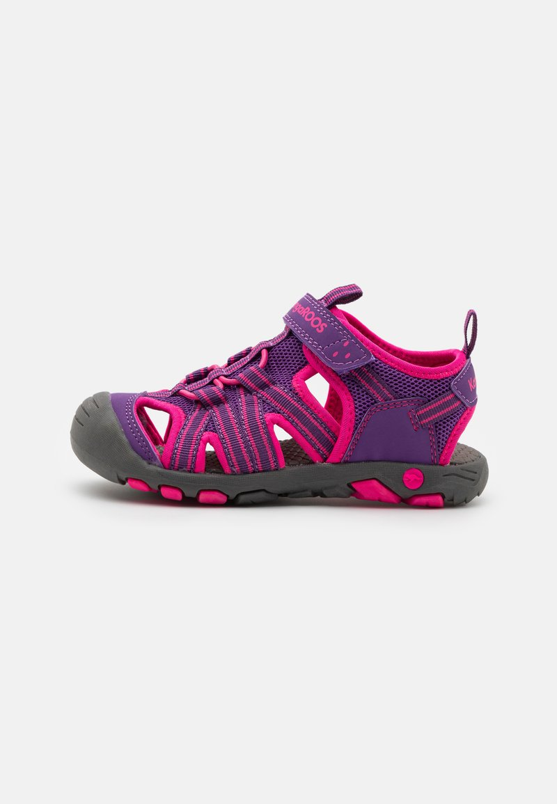 KangaROOS - K-ROAM - Walking sandals - fandago pink/dark navy