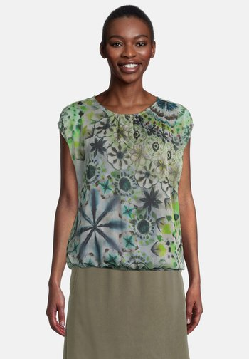 Blouse - nature-green