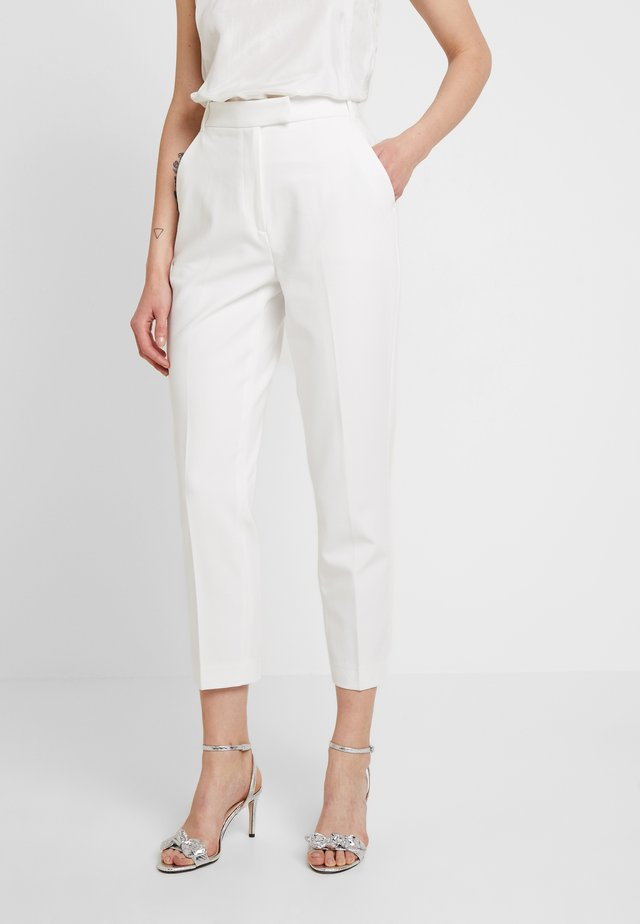 BRIDAL PANTS - Pantalon classique - snow white