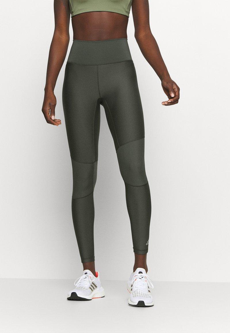 adidas Performance - A.RDY  - Leggings - khaki