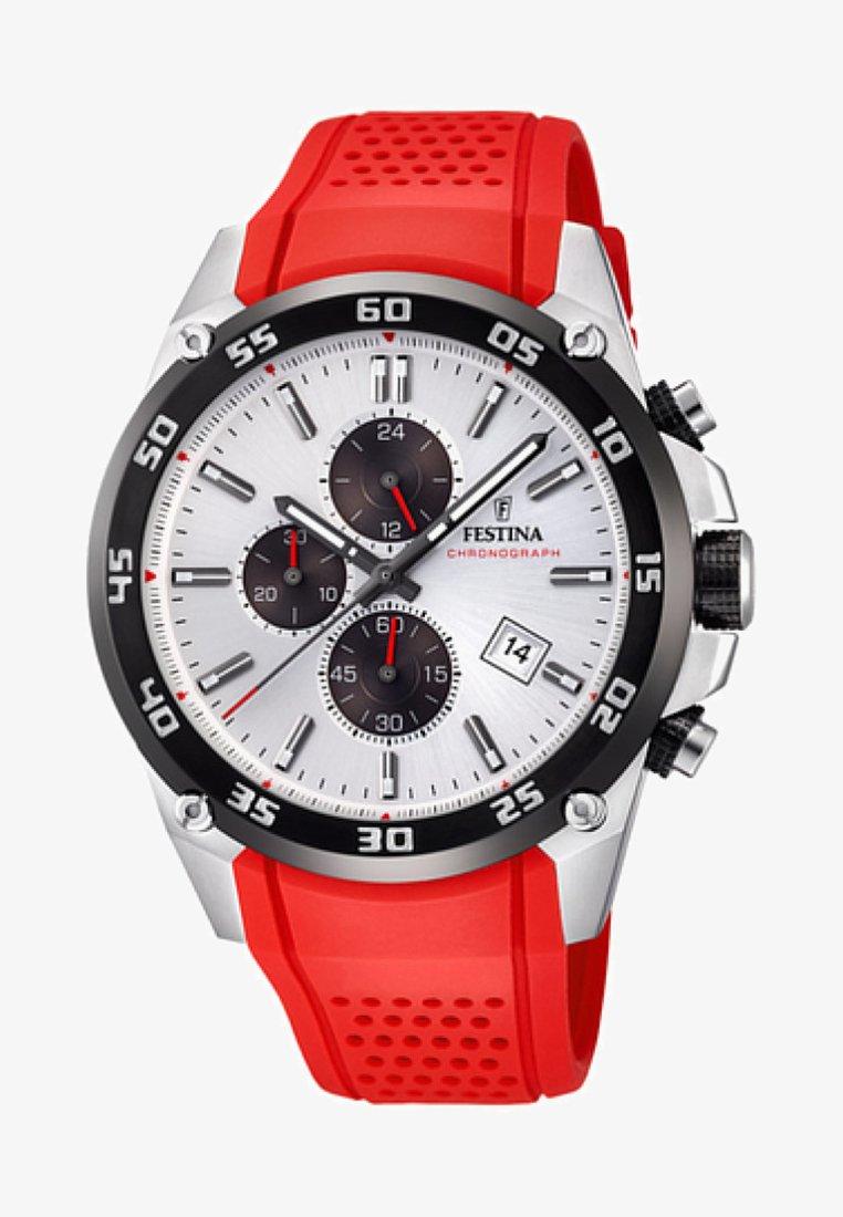 Festina - Chronograph watch - red