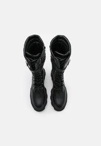 Even&Odd - Plateaulaarzen - black - 5
