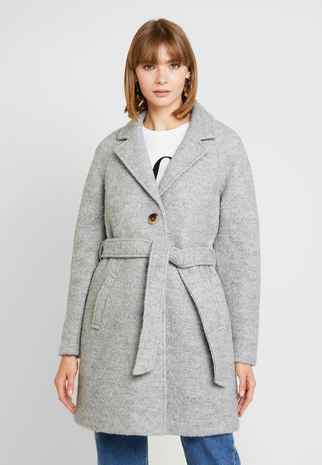 Trenchcoat - light grey melange