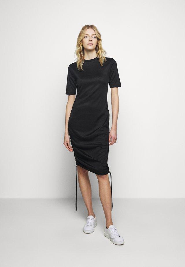 NAKRIS - Jersey dress - black