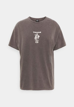 TEXAS TEE UNISEX - T-shirts med print - brown