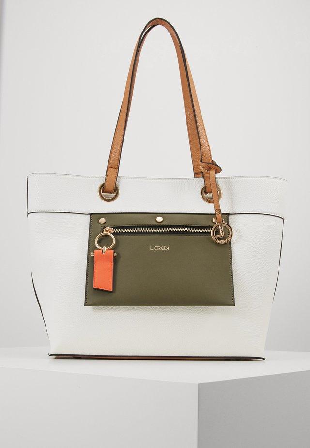 EMERITA - Handbag - weiss