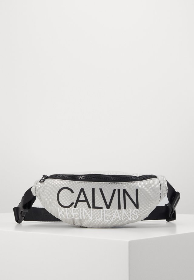 INSTITUTIONAL LOGO WAIST PACK - Ledvinka - grey