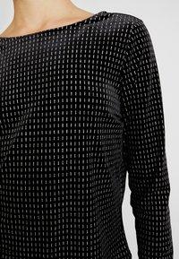 ONLY - ONLLOVABLE GLITTER - Langarmshirt - black - 5