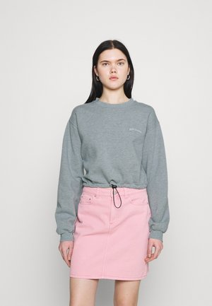 BUBBLE HEM - Sweatshirt - blue