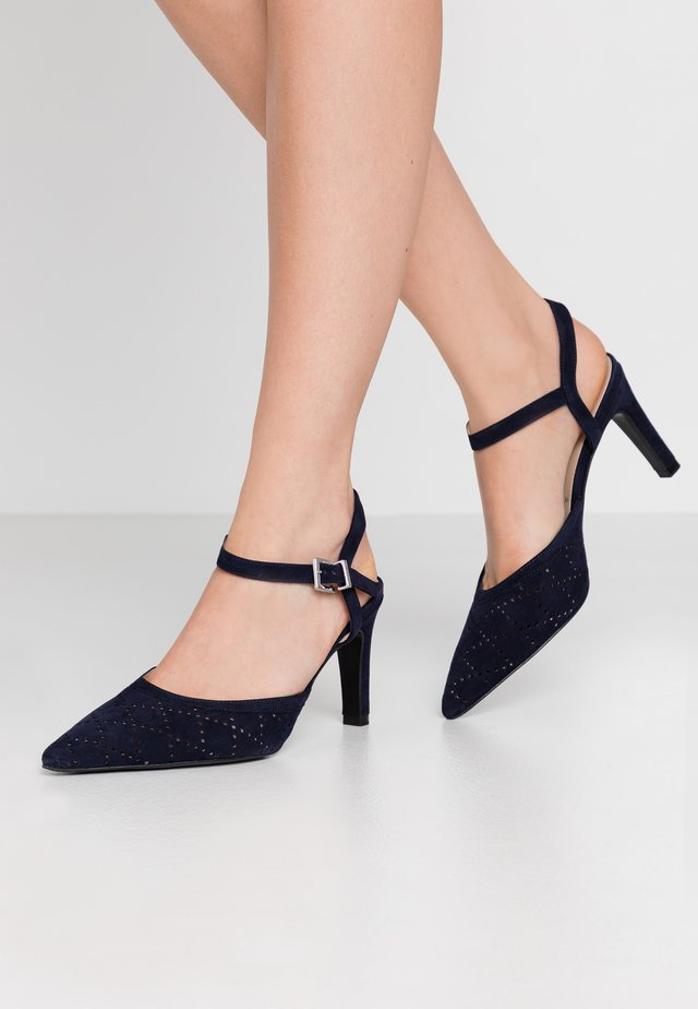 WIDE FIT TIFFY - High heels - notte
