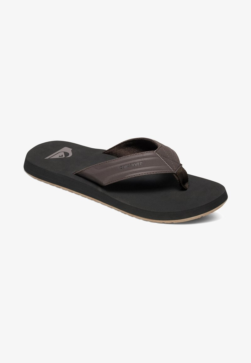 Quiksilver - MONKEY WRENCH  - Mules - brown/black/brown