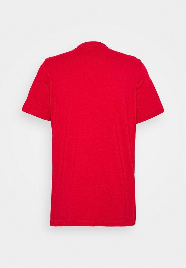 adidas Originals TREFOIL UNISEX - T-shirt z nadrukiem - scarle Nadruk Odzież Damska SUZH VH 8