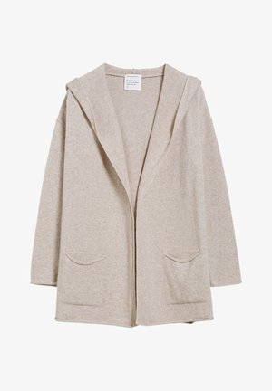 VALDA - Cardigan - light caramel melange