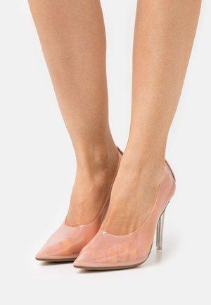 PERSPEX - Lodičky na vysokém podpatku - beige