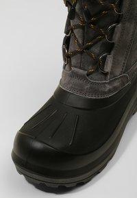 Viking - SVARTISEN - Winter boots - charcoal/black - 5