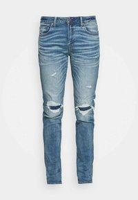 MEDIUM DESTROY  - Skinny džíny - cool torn