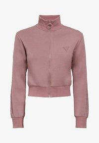 Guess - Zip-up hoodie - rose - 5