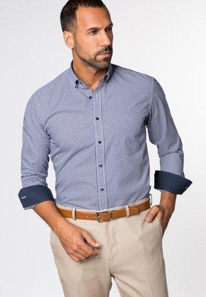 FITTED WAIST - Shirt - marine/weiß