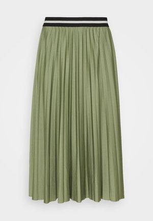 PLEATED SKIRT - Pleated skirt - khaki