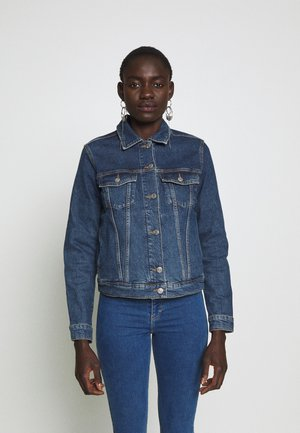 SLFSTORY SPRUCE JACKET - Jeansjakke - dark blue denim