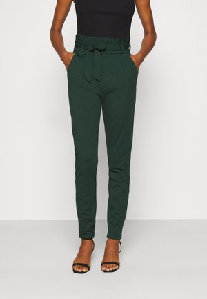 VMEVA PAPERBAG PANT - Trousers - pine grove
