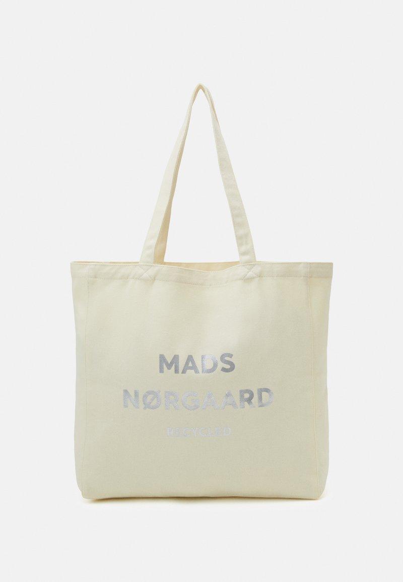 Mads Nørgaard - BOUTIQUE ATHENE - Tote bag - ecru/silver