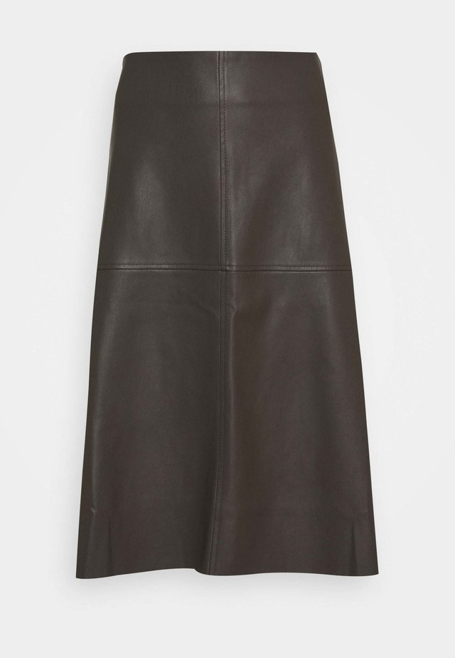 OMALO - A-line skirt - misty green