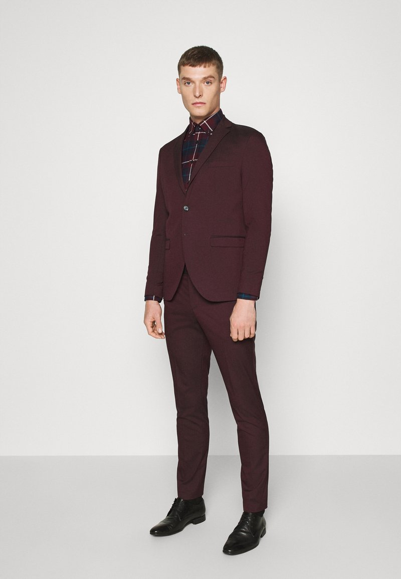 Selected Homme - SLHSLIM-MYLOLOGAN SUIT - Traje - winetasting