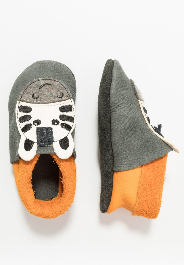 POLOLO ZEBRA - First shoes - granit