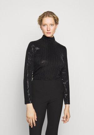 PARIS GLAM  - Long sleeved top - black