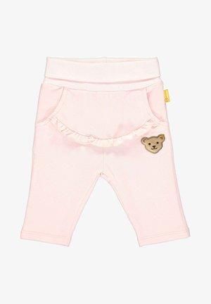 STEIFF COLLECTION JOGGINGHOSE MIT FRONTTASCHE - Pantalon de survêtement - barely pink